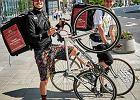 New delivery, czyli burger pędzi na rowerze