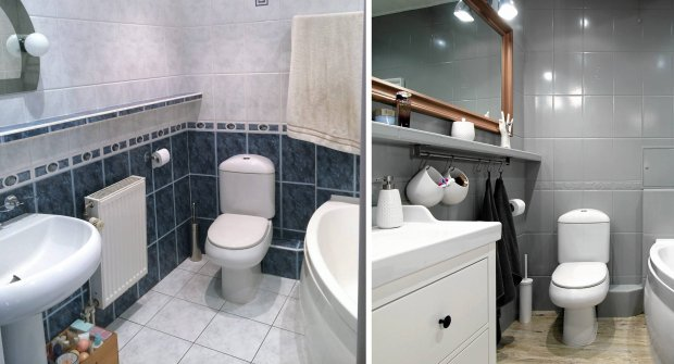 Metamorfoza łazienki V33 0425