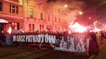 """""""Marsz Patriotów"""" we Wrocławiu w 2016"""