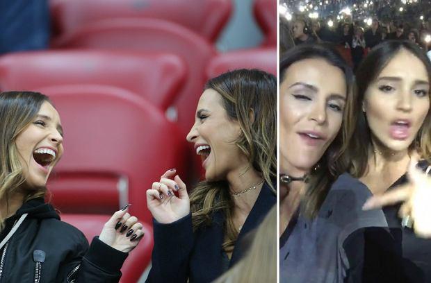 Marina Łuczenko-Szczęsna i Sara Boruc tym razem nie kibicowały polskiej reprezentacji w trakcie meczu Polska-Rumunia. Zamiast tego wybrały inne rozrywki.