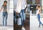 Spodnie jeansowe - jak je modnie nosić wiosną