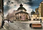 Ukraina: Lw�w. Liczy sobie przynajmniej 800 lat, zawsze by� miastem wielokulturowym, w kt�rym mieszkali, lub nadal mieszkaj�, m.in. Polacy, �ydzi, Czesi i Ormianie. Stare Miasto we Lwowie zosta�o wpisane na list� zabytk�w UNESCO. Odleg�o��: 95 km od Przemy�la.