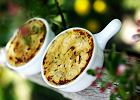 Creme brul�e z gorgonzoli i por�w
