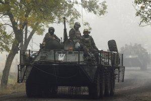 Ukraina. Siedmiu �o�nierzy zabitych w trafionym przez czo�g transporterze