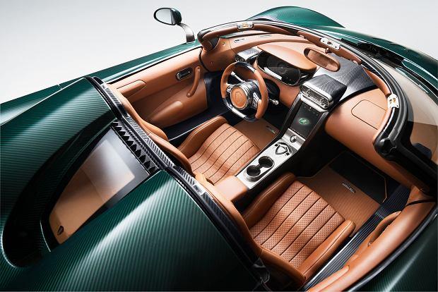 Wnętrze jednego z modeli Koenigsegg Regera