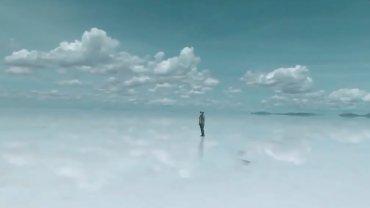 To jezioro wysch�o i zamieni�o si� w lustro. Najwi�ksze takie zjawisko na �wiecie