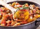 Obiad pe�en warzyw