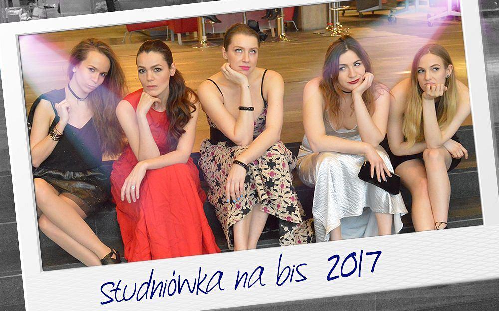 Studniówka na bis, od lewej: Paulina, Natalia, Ola, Natalia i Agnieszka