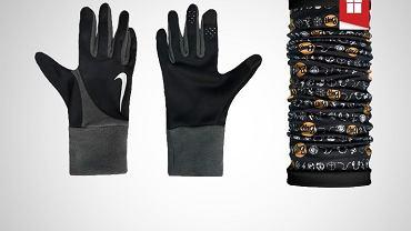 Zestaw rękawiczki Nike i chusta Buff