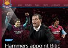 Premier League. Slaven Bili� trenerem pi�karzy West Ham United