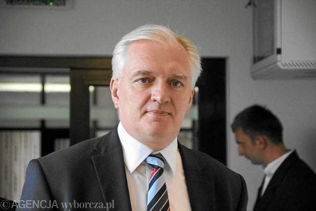 Jaros�aw Gowin, minister sprawiedliwo�ci