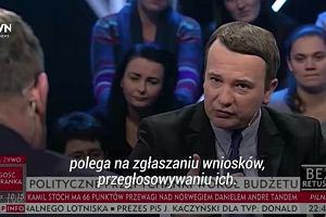 """""""Pan nie czyta gazet!"""" Kłótnia między dziennikarzem a europosłem PiS"""