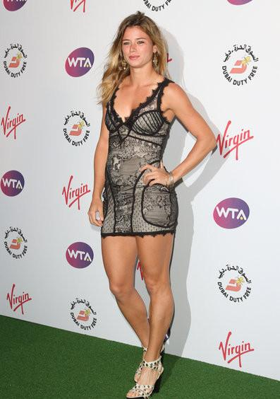 06/21/2012 - Camila Giorgi - 2012 Tennis - WTA Tour Pre-Wimbledon Party - Arrivals - The Roof Gardens, Kensington High Street - London, UK - Keywords: LMK73-39537-220612 Orientation: Portrait Face Count: 1 - False - Photo Credit: Landmark / PR Photos - Contact (1-866-551-7827) - Portrait Face Count: 1