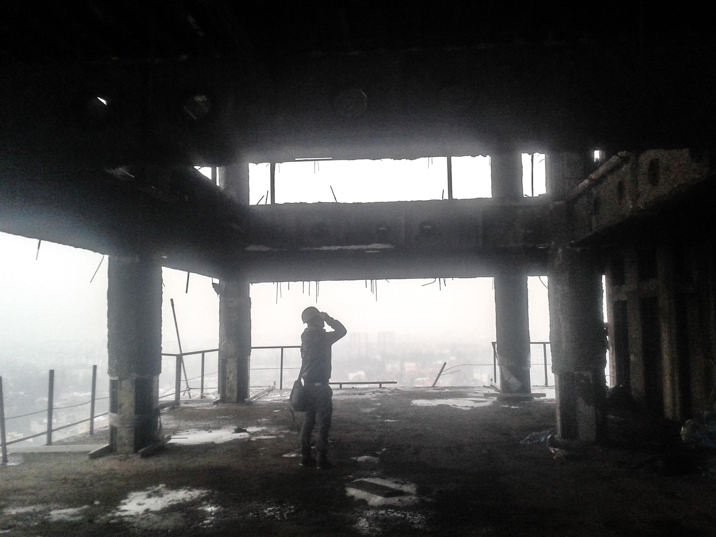 Wnętrze budynku (fot. Mateusz Witkowski)