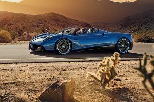 Pagani Huayra Roadster   Więcej mocy, niższa waga