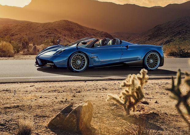 Pagani Huayra Roadster | Więcej mocy, niższa waga