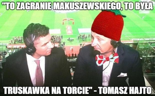 Truskawka na torcie