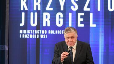 Były minister rolnictwa Krzysztof Jurgiel