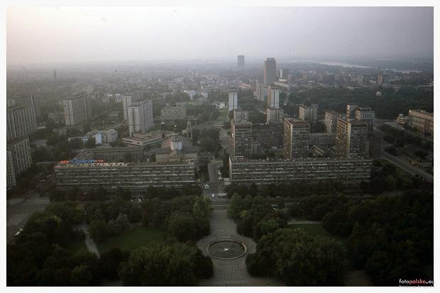Osiedle Za Żelazną Bramą w latach 80. XX wieku.
