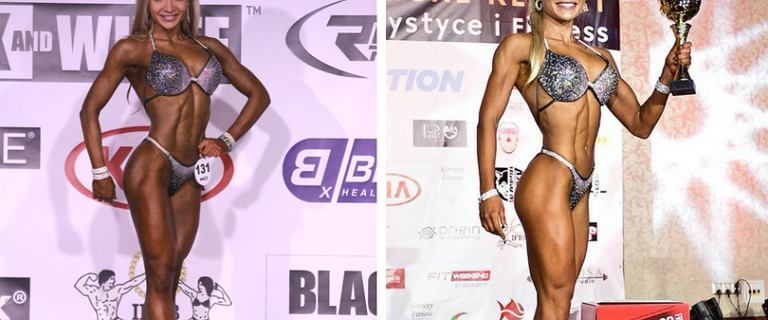 Z dnia na dzień zmieniła zawód. Schudła i postanowiła, że zostanie zawodniczką bikini fitness.