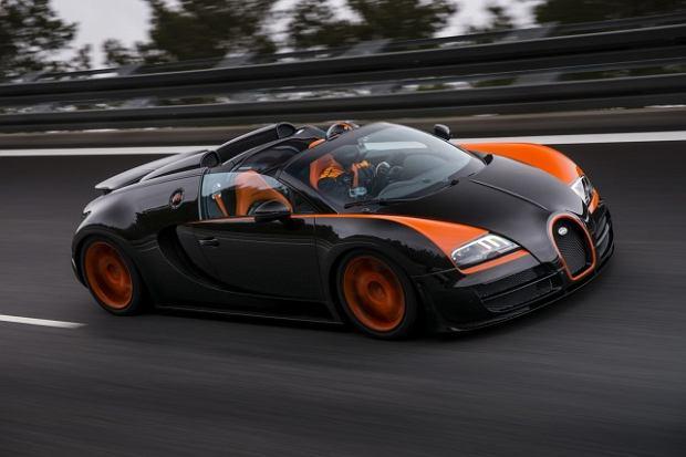 Bugatti najszybszym kabrioletem �wiata