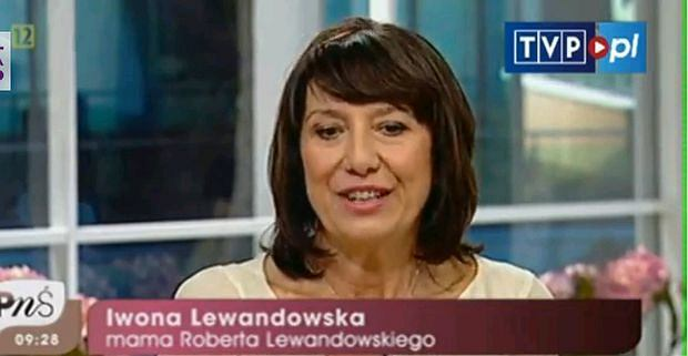 Robert Lewandowski mama