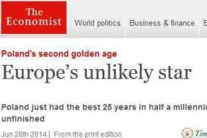 """""""The Economist"""" chwali Polsk�: Najlepszy okres od 500 lat"""