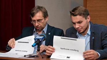 Konferencja prasowa Stowarzyszenia Metropolia Bydgoska