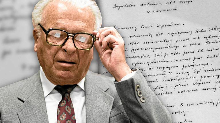 List Kiszczaka z 1996 roku