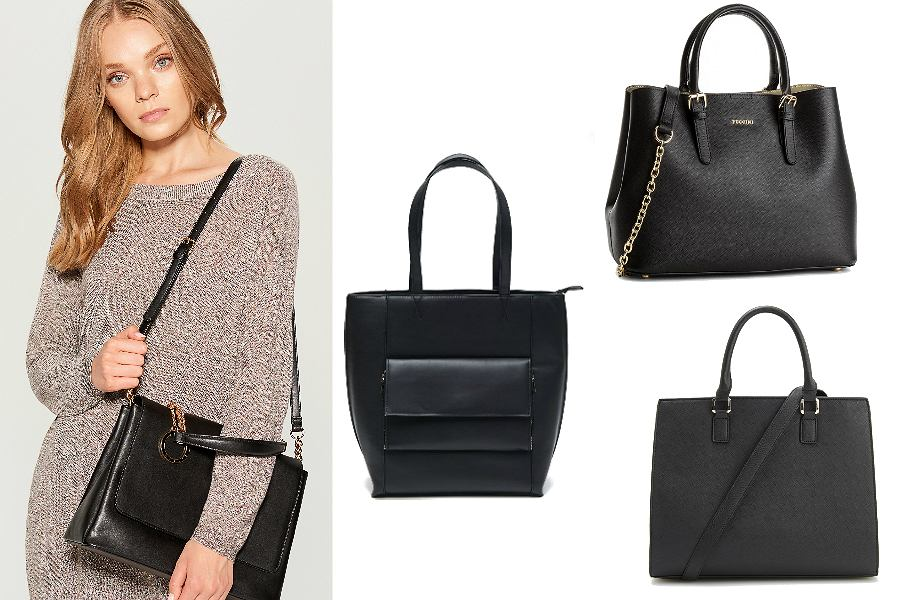 czarne torebki damskie