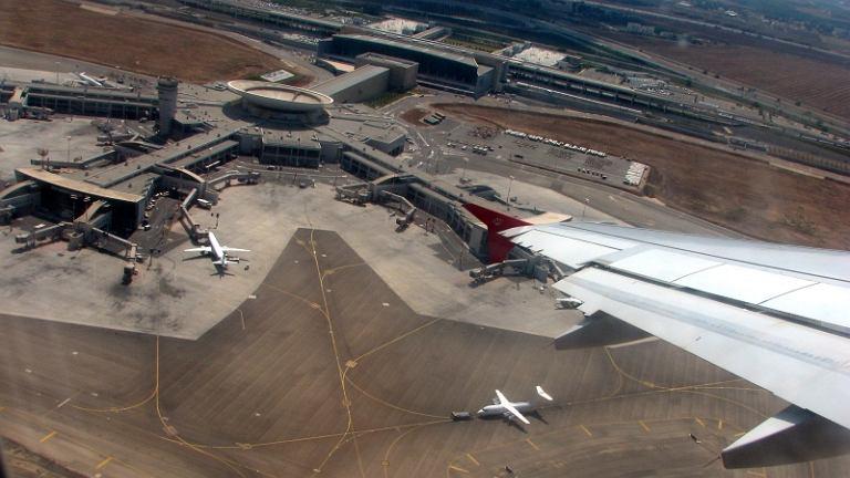 Międzynarodowy port lotniczy im. Ben Guriona w Tel Awiwie