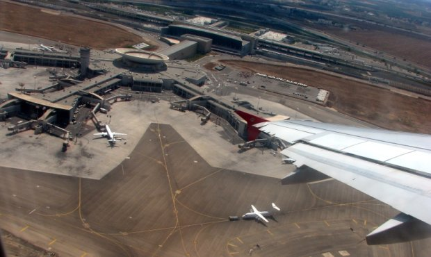 Mi�dzynarodowy port lotniczy im. Ben Guriona w Tel Awiwie