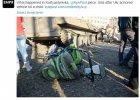 Ukraina: transporter opancerzony potr�ci� kobiet� i dwoje dzieci. Jedno zmar�o