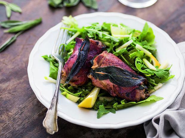 Saltimbocca z kurczaka