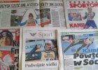 """Soczi 2014. Media o sukcesie Stocha: """"�ó�ty jak z�oto Stoch odpali� rakiety"""""""