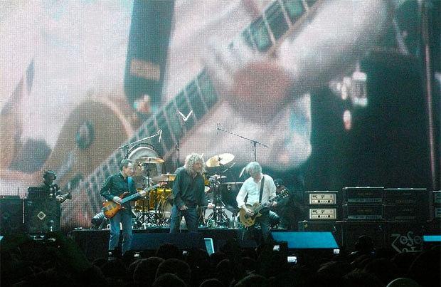 Les Paul: człowiek, który dał nam rocka, logo z klasą, Led Zeppelin 2007