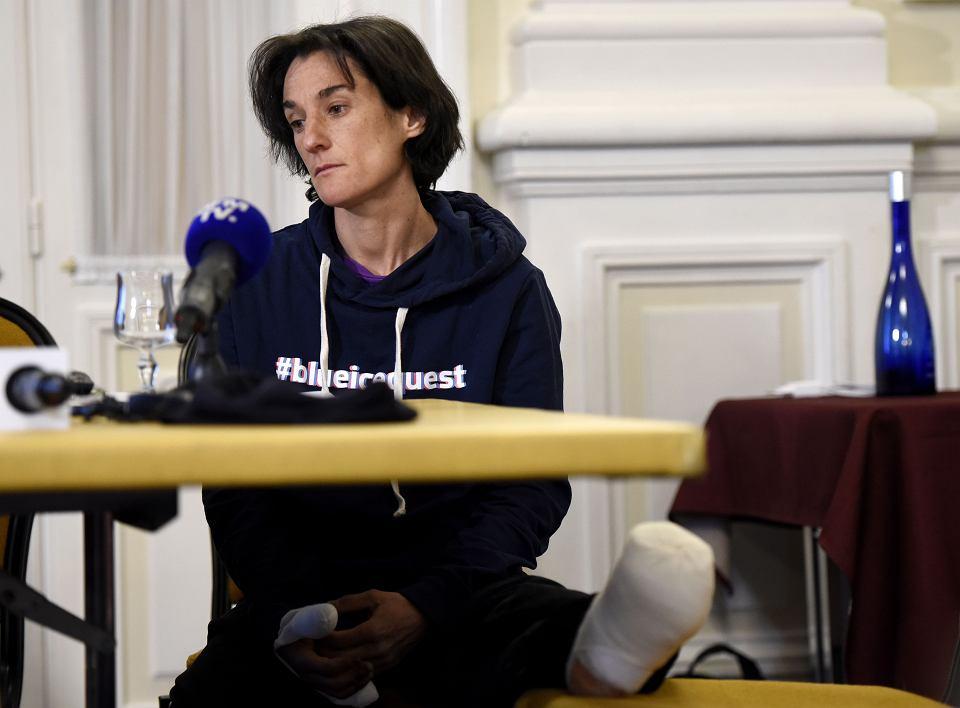 Konferencja prasowa Elisabeth Revol