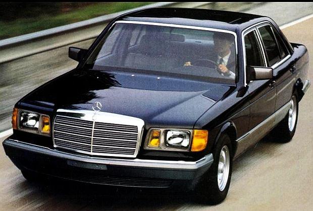 W126 w wersji na rynek USA