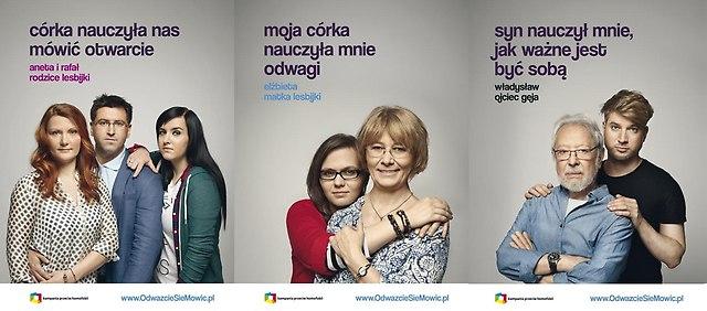 Plakaty kampanii Rodzice, Odważcie się Mówić