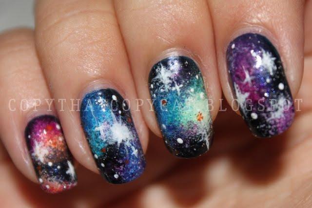Космос ногти