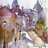 Paryska uliczka pod g�r�