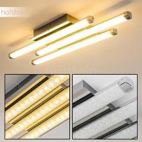 ISKUT lampa sufitowa LED Chrom, 3-punktowe - Nowoczesny - Obszar wewnętrzny - Deckenleuchte - Czas dostawy: od 2-4 dni roboczych