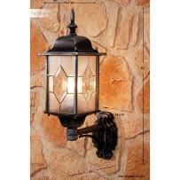 Amapala lampa ścienna Czarny, 1-punktowy - Klasyczny - Obszar zewnętrzny - Amapala - Czas dostawy: od 2-4 dni roboczych