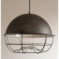 Brushed Grey Cage 35cm