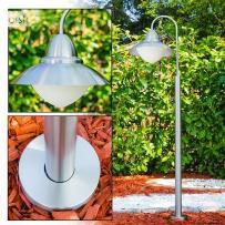 Eglo Sydney zewnętrzna lampa stojąca Stal nierdzewna - Nowoczesny/Design - Obszar zewnętrzny - Außenwegeleuchte - Czas dostawy: od 8-12 dni roboczych