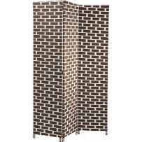 Parawan Canvas Brick Kare Design 80551