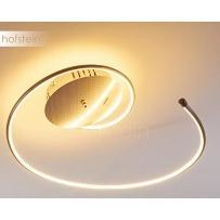 Ungava Lampa sufitowa LED Nikiel matowy, 1-punktowy - Nowoczesny - Obszar wewnętrzny - Ungava - Czas dostawy: od 2-4 dni roboczych