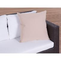 Poduszka ogrodowa - dekoracyjna - poduszka 50x50 cm karmelowa