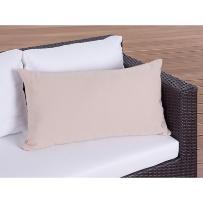 Poduszka ogrodowa - dekoracyjna - poduszka 40x70 cm karmelowa