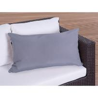 Poduszka ogrodowa - dekoracyjna - poduszka 40x70 cm szara
